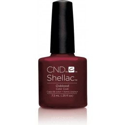 Shellac nail polish - OXBLOOD