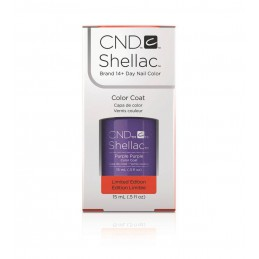 Shellac nail polish - PURPLE PURPLE CND - 1