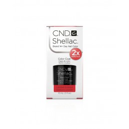 Shellac nail polish - BLACK POOL CND - 1