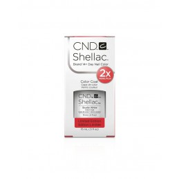 Shellac nail polish - STUDIO WHITE CND - 1
