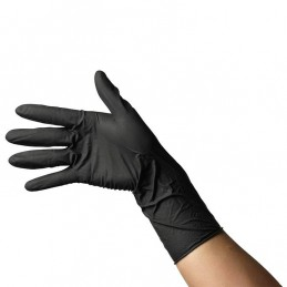 Black gloves 10 pcs