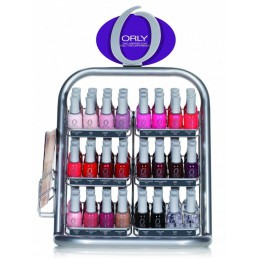 Orly Stand with 72 polishes