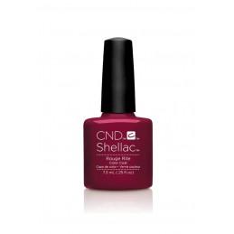 Shellac nail polish - ROUGE...